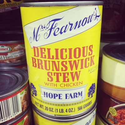 """Unlike their competitor """"Disgusting Brunswick Stew"""""""