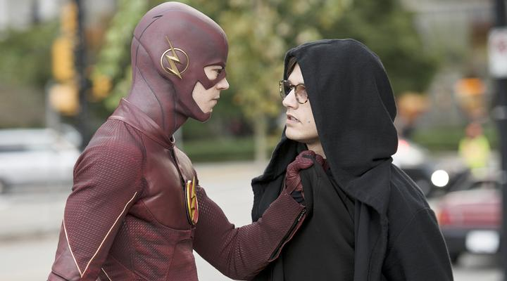 The Flash with an alleged wrongdoer