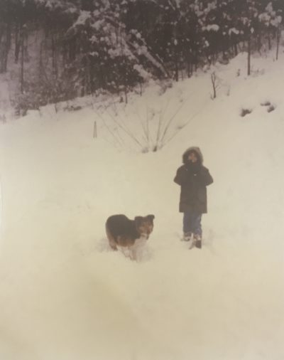 Jeff and Mutt in the Snow